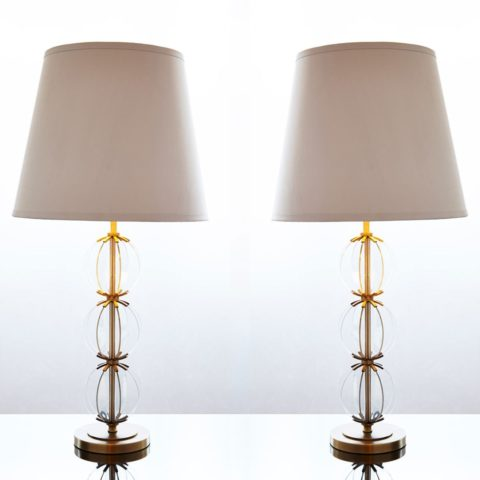 Valerie Wade Lt440 Pair Contemporary Orb Lamps Large 01