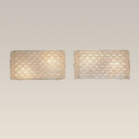 Valerie Wade Lw227 Italian Glass Wall Lights 01