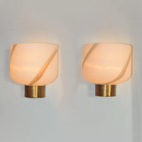Valerie Wade Lw622 Pair 1960S Murano Wall Lights 01