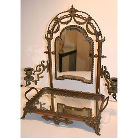 Valerie Wade Mt134 Edwardian Twilight Dressing Table Mirror 01