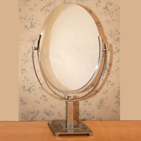 Valerie Wade Mt467 1950S American Oval Table Mirror 01