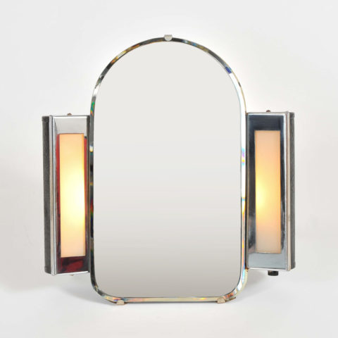 Valerie Wade Mt626 1930S Us Art Deco Illuminated Dressing Table Mirror 01