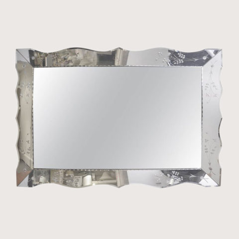 Valerie Wade Mw236 1950S French Rectangular Mirror 01