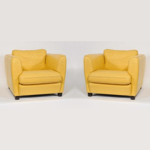 Yellow Armchairs I 2