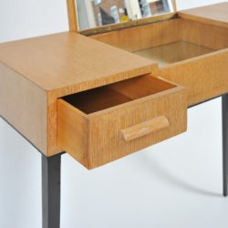 The image for 1930S Comte Oak Dressing Table Iv