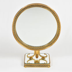 The image for 1940S Brass Table Mirror–01