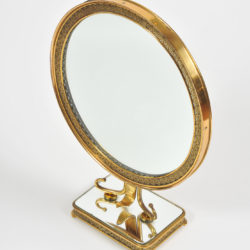 The image for 1940S Brass Table Mirror–02