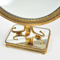 The image for 1940S Brass Table Mirror–06
