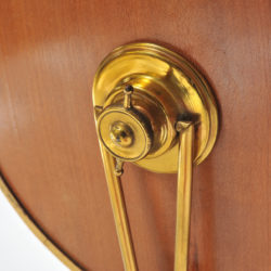 The image for 1940S Brass Table Mirror–08