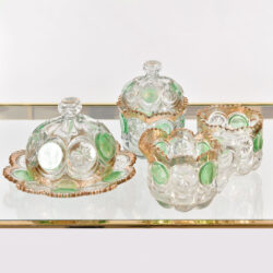 The image for 1950S Continental Cut Glass Set 01