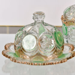 The image for 1950S Continental Cut Glass Set 02