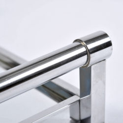 The image for 1950S Rectangular Chrome Tray 06