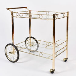 The image for American Brass Drinks Trolley 01