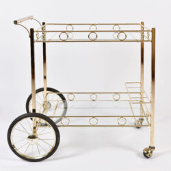 The image for American Brass Drinks Trolley 02