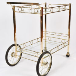 The image for American Brass Drinks Trolley 03