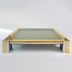 The image for Brass Chrome Coffee Table 01