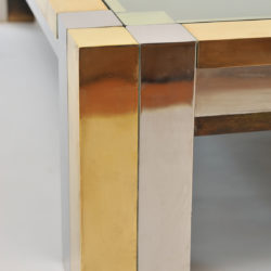 The image for Brass Chrome Coffee Table 03