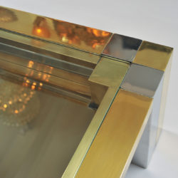 The image for Brass Chrome Coffee Table 04