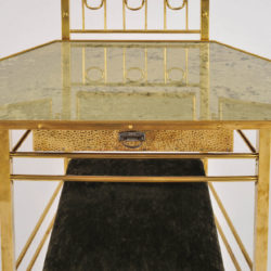 The image for Brass Dressing Table And Stool 06 Vw