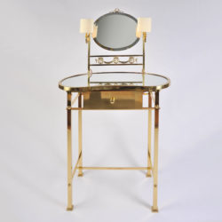 The image for Brass Dressing Table Mirror Lights 01