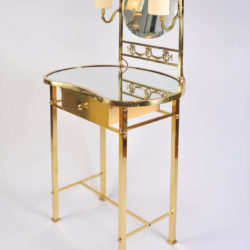 The image for Brass Dressing Table Mirror Lights 02