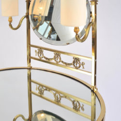 The image for Brass Dressing Table Mirror Lights 03