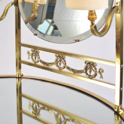 The image for Brass Dressing Table Mirror Lights 06