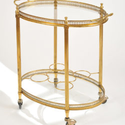 The image for Brass Drinks Trolley 02