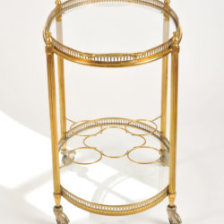 The image for Brass Drinks Trolley 03