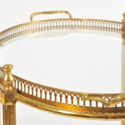 The image for Brass Drinks Trolley 06