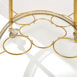 The image for Brass Drinks Trolley 08