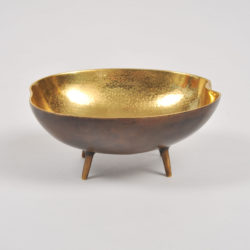 The image for Brass Tripod Bowl 03