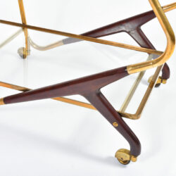 The image for Brass And Mahogany Trolley 06