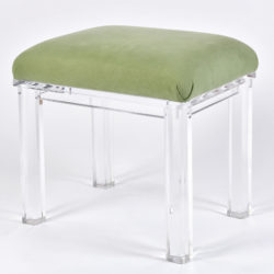 The image for Carmichael Lucite Stool 02