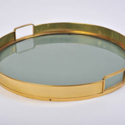 The image for Circular Brass Tray 02