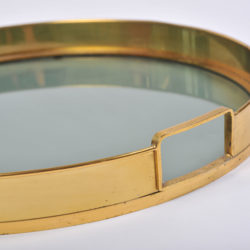 The image for Circular Brass Tray 04