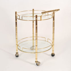 The image for Circular Brass Trolley 01
