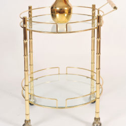 The image for Circular Brass Trolley 02