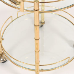 The image for Circular Brass Trolley 04