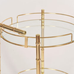 The image for Circular Brass Trolley 05