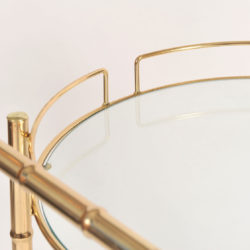 The image for Circular Brass Trolley 06