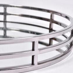 The image for Circular Chrome Tray 02