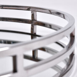 The image for Circular Chrome Tray 03