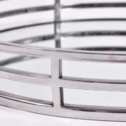 The image for Circular Chrome Tray 04