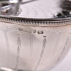 The image for English Silver Plate Cornucopia 04