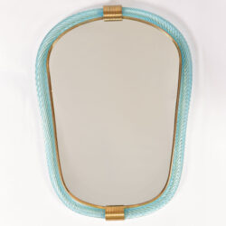 The image for Firenze Mirror Blue Oblong 01