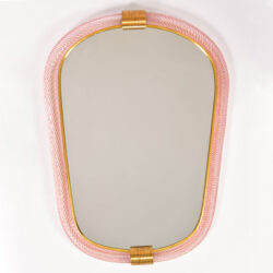 The image for Firenze Mirror Pink Oblong 01