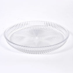 The image for Fluted Glass Circular Tray 01