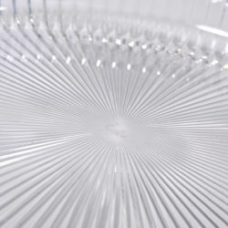The image for Fluted Glass Circular Tray 02
