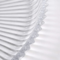 The image for Fluted Glass Circular Tray 03